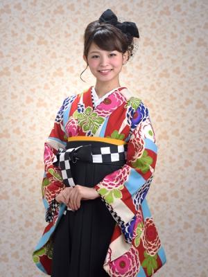 KIMONO ¥30,000(税抜)JAPAN STYLE HAKAMA ¥20,000(税抜) TOTAL ¥50,000(税抜)