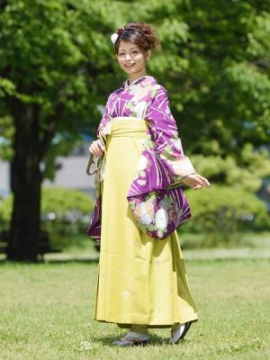 KIMONO ¥30,000(税抜) HAKAMA ¥20,000(税抜)ラコクラ TOTAL ¥50,000(税抜)