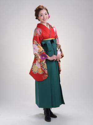 KIMONO ¥30,000(税抜)Uco Oshima HAKAMA ¥20,000(税抜)九重 TOTAL ¥50,000(税抜)