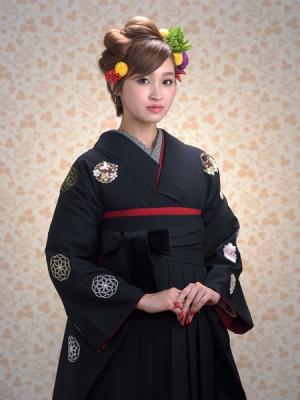 KIMONO ¥24,000(税抜)JAPAN STYLE HAKAMA ¥20,000(税抜) TOTAL ¥44,000(税抜)
