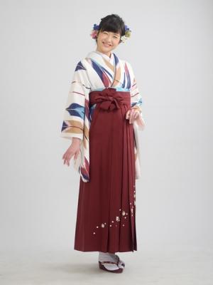 KIMONO ¥12,000(税抜) HAKAMA ¥12,000(税抜) TOTAL ¥24,000(税抜)