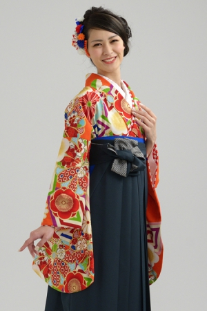 KIMONO ¥30,000(税抜)JAPAN STYLE HAKAMA ¥20,000(税抜)九重 TOTAL ¥50,000(税抜)