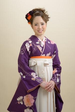 KIMONO ¥18,000(税抜) HAKAMA ¥16,000(税抜)MOE OSHIKIRI TOTAL ¥34,000(税抜)